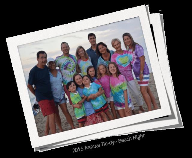2015 Annual Tie-Dye Beach Night Photo